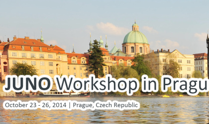 JUNO Workshop in Prague 2014