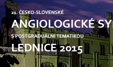 21st Czech-Slovakian Angiological Symposium