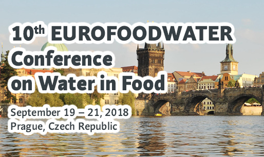 10th EUROFOODWATER Conference on Water in Food
